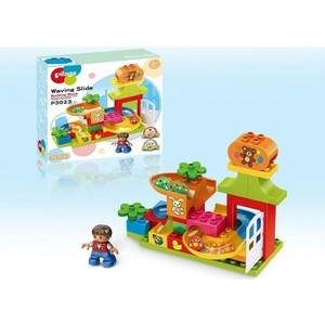 Конструктор Pilage Детские игрушки (34 детали), лабиринт с шариками