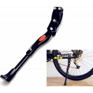 Подножка JOY KIE алюм. KWA-616_03, на перо, универсальная, для велосипеда 26-29, черная