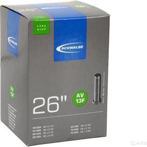 Камера велосипедная SCHWALBE AV13F TR4 FREERIDE 54/75-559, 26x2.1525-3.0 40mm автовентиль 10425790