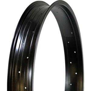 Колесо NANDUN обод 26x36H, 80mm (Fatbike) черный запчасть nandun dh 18 24 36h a v