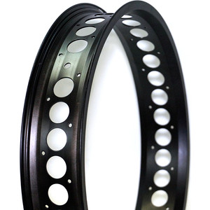 Колесо NANDUN обод MX-80S 20x36H,80mm (Fatbike) черный с отверстиями