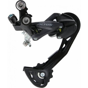 цена на Переключатель задний Shimano ALTUS ARDM2000SGL, 8-9 speed, без упаковки, черный, ARDM2000SGL