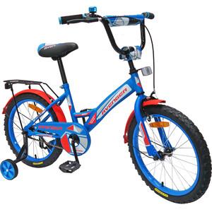 Велосипед AVENGER 20 NEW STAR, голубой/красный (2020)