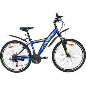 Велосипед Nameless 26 S6000, синий/желтый, 15 (2020)