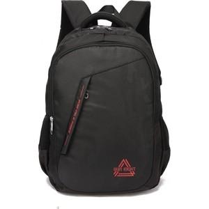 Рюкзак Sun eight школьный SE-8263 черный/красный, 15.6'' школьный SE-8263 черный/красный, 15.6