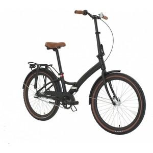Велосипед Forward City 24 3.0 (рост 14) 2018-2019 (черный мат., RBKW9Y241001)