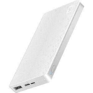 Внешний аккумулятор Xiaomi ZMI QB810 Power Bank 10000mAh white внешний аккумулятор xiaomi zmi power bank qb810 10000mah tiffany for lightning phones выгодный набор серт 200р
