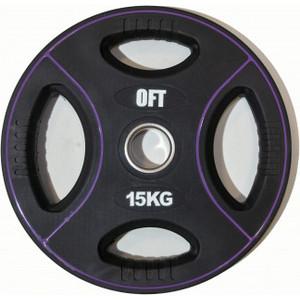 Диск полиуретановый Original Fit Tools олимпийский 15 кг.