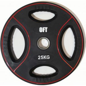 Диск полиуретановый Original Fit Tools олимпийский 25 кг