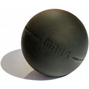 Мяч для МФР Original FitTools 9 см одинарный черный