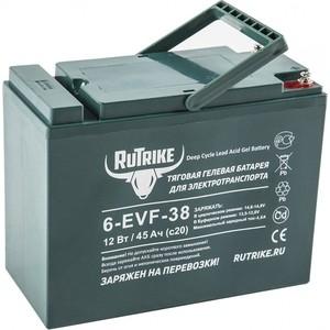Аккумулятор Rutrike Тяговый гелевый 6-EVF-38 (12V38A/H C3) фото