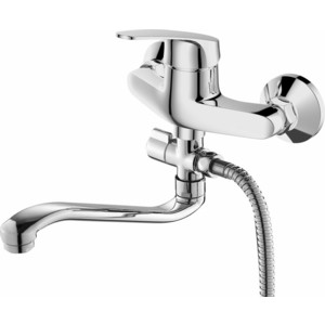 цена на Смеситель для ванны Devida Elsi с поворотным изливом, хром (DVL0322-05)
