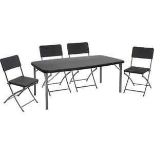 Набор складной мебели Go Garden TORINO, садовый, 152х83,5х73 см, пластик/сталь набор складной мебели go garden napoli садовый 78х78х74см пластик сталь