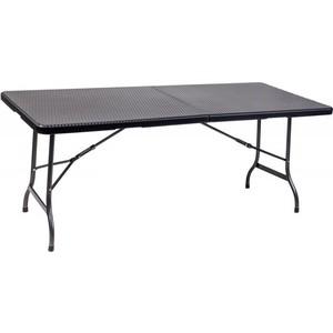Стол складной Go Garden CAPRI, садовый, 180x75x72 см, пластик/сталь набор складной мебели go garden napoli садовый 78х78х74см пластик сталь