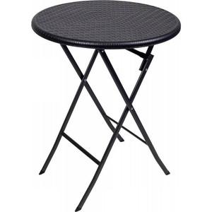 Стол складной Go Garden LYON, садовый, 60x60x74 см, пластик/сталь набор складной мебели go garden napoli садовый 78х78х74см пластик сталь