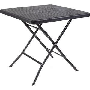 Стол складной Go Garden SPLIT, садовый, 78x78x74 см, пластик/сталь набор складной мебели go garden napoli садовый 78х78х74см пластик сталь
