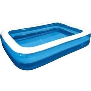 Надувной бассейн Jilong GIANT, 262х175х50см, семейный, цвет голубой бассейн надувной jilong barbapapa 2 ring цвет голубой 61 х 12 5 см