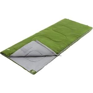 Спальный мешок Jungle Camp Camper, левая молния, цвет зеленый
