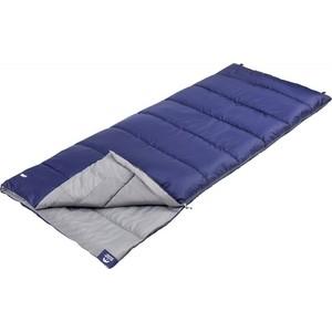 Спальный мешок Jungle Camp Avola, левая молния, цвет синий
