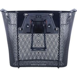 Корзина Oxford Quick Release Front Mesh Basket быстросъёмная, цвет чёрный