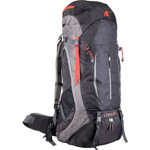 цена Рюкзак туристический TREK PLANET LHASA 85, цвет черный онлайн в 2017 году