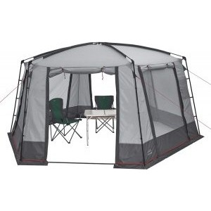 Шатер TREK PLANET Siesta Tent, шестиугольной формы, 460 см х 400 см х 225 см, цвет серый/т. серый