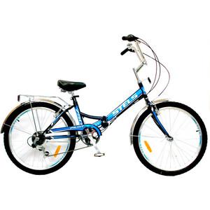 Велосипед Stels Pilot-750 24 (Z010) 16 синий (2018) stels pilot 410 2017