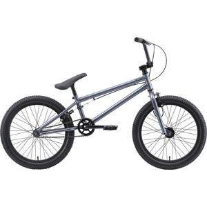 Велосипед Stark Madness BMX 1 (2020) серый/оранжевый