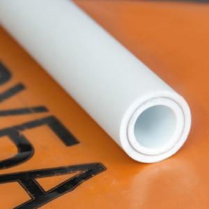 Труба полипропиленовая РосТурПласт PP-R SDR6 PN25 диаметр 63 мм, длина 4 м, армирована алюминием (14370)