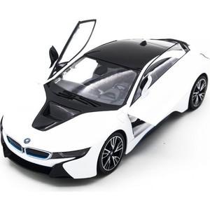 Радиоуправляемая машина Rastar BMW i8 White 1/14 (двери открываеются с пульта) - RAS-71000-W