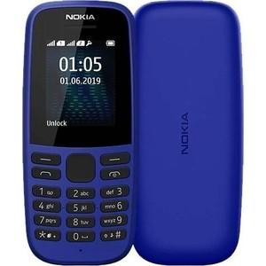 Мобильный телефон Nokia 105 SS (TA-1203) blue без зарядного ус-ва