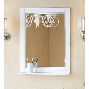 Зеркало с полкой Corozo Техас 60 белое (SD-00000276)