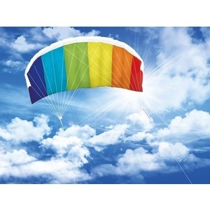 Воздушный змей управляемый парашют Hasi Радуга 120 пеленка фланель радуга 75 120