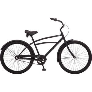 Велосипед Schwinn Huron 3 (2019), 3 скорости, колёса 26, цвет чёрный