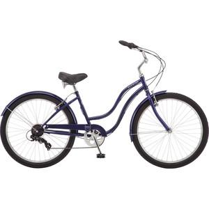 Велосипед Schwinn Mikko 7 (2019), скоростей, колёса 26, цвет синий