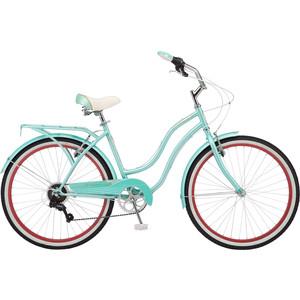 Велосипед Schwinn Miramar Women (2019), 7 скоростей, колёса 26, цвет голубой