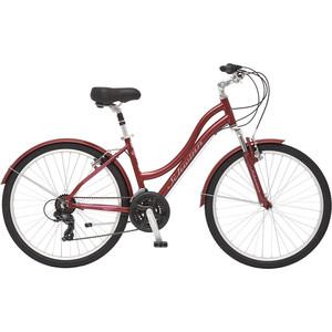 Велосипед Schwinn Suburban Deluxe Women 26 (2019), цвет красный