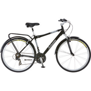 Велосипед Schwinn Discover (2019), 21 скорость, цвет чёрный
