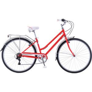 Велосипед Schwinn Wayfarer (2019), 7 скоростей, цвет красный