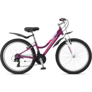 Велосипед Schwinn Breaker 24 Girls (2019), 21 скорость, колёса 24, цвет фиолетовый