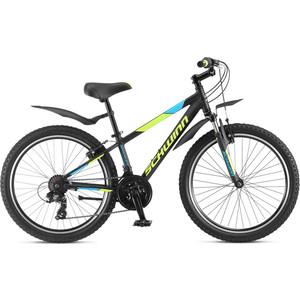 Велосипед Schwinn Breaker 24 (2020), 21 скорость, колёса 24, цвет чёрный