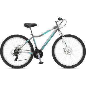 Велосипед Schwinn Breaker Womens (2019), 21 скорость, колёса 26, цвет серый