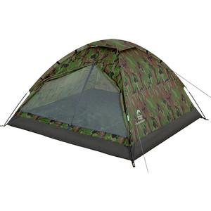 Палатка Jungle Camp двухместная Fisherman 4, цвет- камуфляж