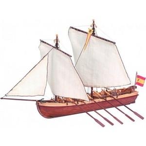 Сборная деревянная модель Artesania Latina капитанской шлюпки корабля SANTISIMA TRINIDAD, 1/50