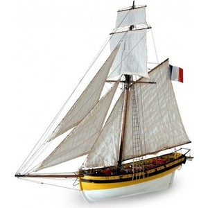 Сборная деревянная модель Artesania Latina корабля LE RENARD 2012, 1/50