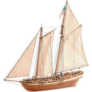 Сборная деревянная модель Artesania Latina корабля VIRGINIA AMERICAN SCHOONER, 1/41