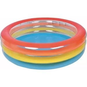 Надувной бассейн Jilong COLORFULL RIBBON, 187x50 см, возраст 6+ лет бассейн надувной jilong barbapapa 2 ring цвет голубой 61 х 12 5 см