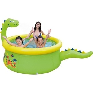 Надувной бассейн Jilong DINOSAUR 3D SPRAY, 175х62см, возраст 3+