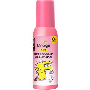 средства от насекомых Спрей GRASS Drago KIDS детский от комаров и других насекомых 85 мл