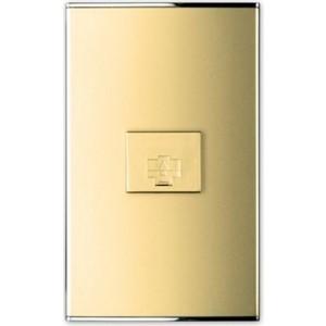Фото - PANASONIC SHIN DONG-A Розетка телефонная 6P. Parthenon Gold розетка телефонная rj 11 без рамки wl11 a040909